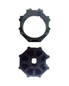 Adaptador de 45mm a 60mm octagonal