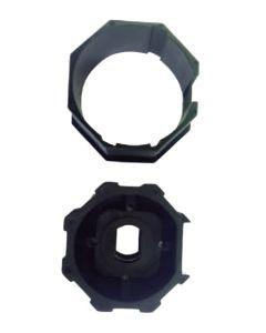 Adaptador de 45mm a 50mm octagonal