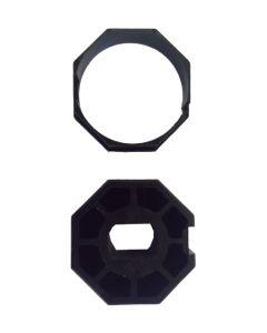 Adaptador de 35mm a 40mm  octagonal